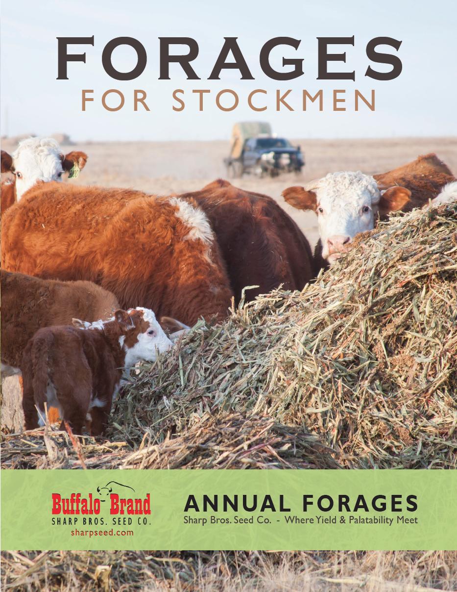 Sharp Bros. Seed Co. 2018 Forage Brochure - sharpseed.com